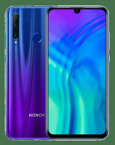 Honor 20 Lite szerviz árak