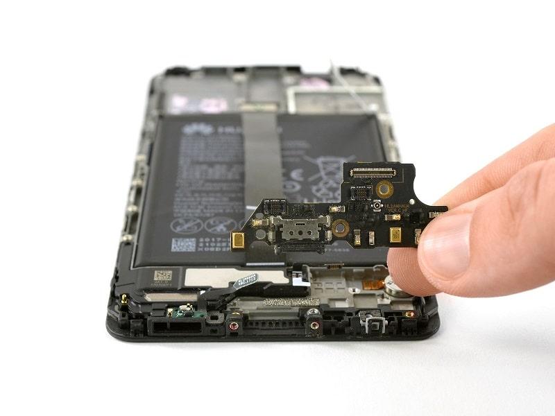 Huawei Mate 10 usb csere