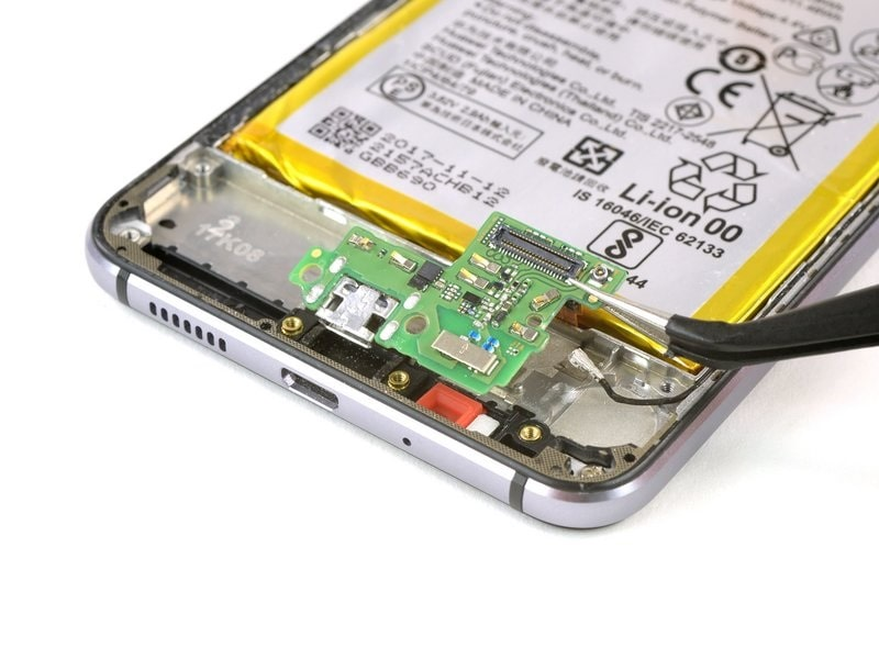 Huawei P10 Lite usb csere