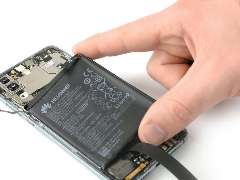 Huawei P20 Lite akkumulátor csere
