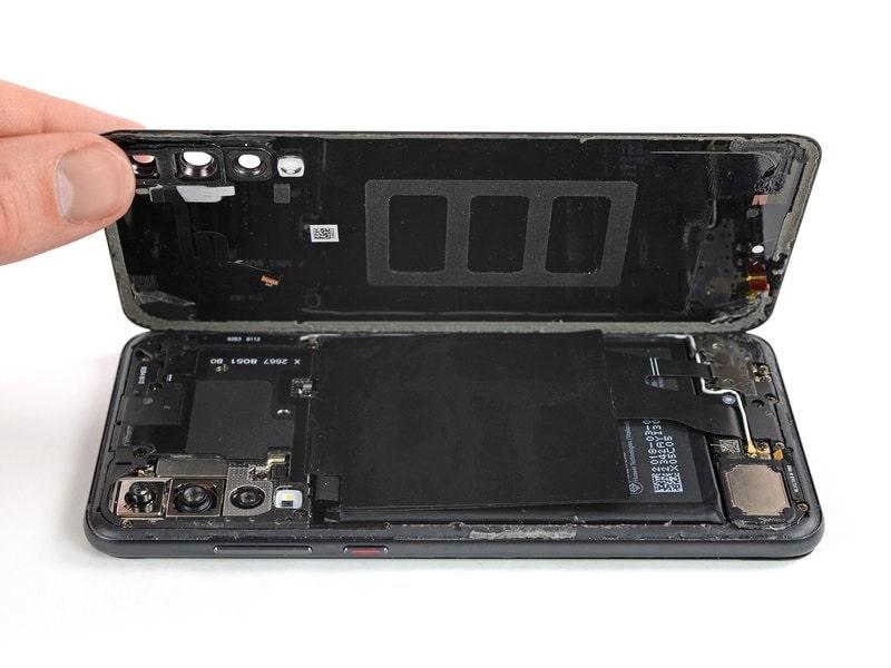 Huawei P20 Pro hátlap csere