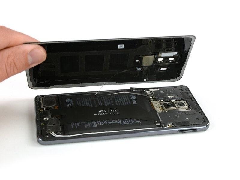Huawei Mate 10 Lite hátlap csere