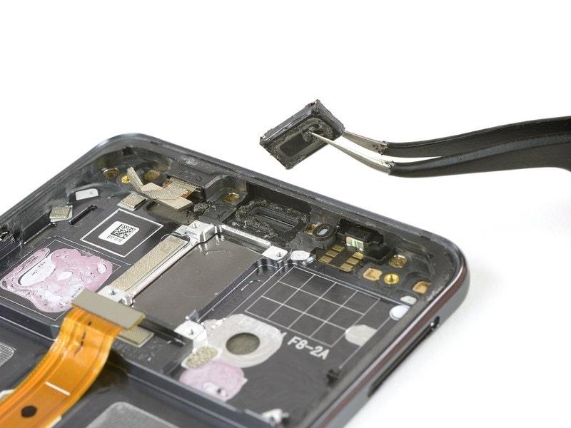 Huawei Mate 10 Lite mikrofon csere