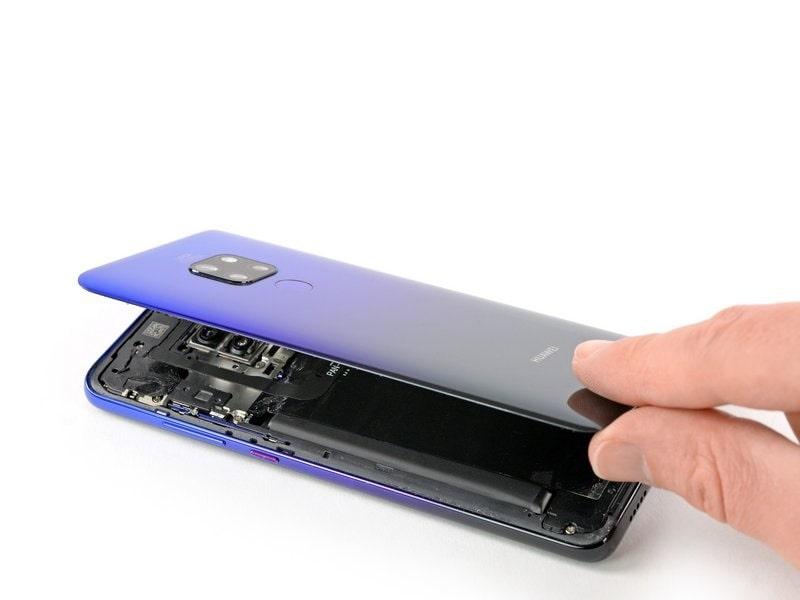 Huawei Mate 20 hátlap csere