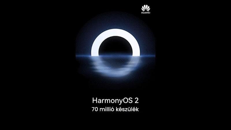 Már több mint 70 millió készüléken találni HarmonyOS